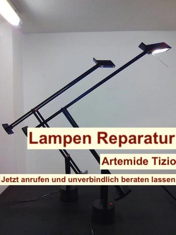 Lampen Reparatur Berlin - Artemide Tizio