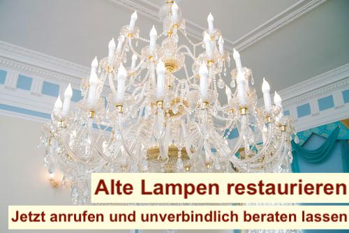 Alte Lampen restaurieren Berlin
