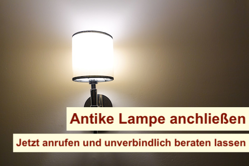 Antike Lampe anschließen Berlin