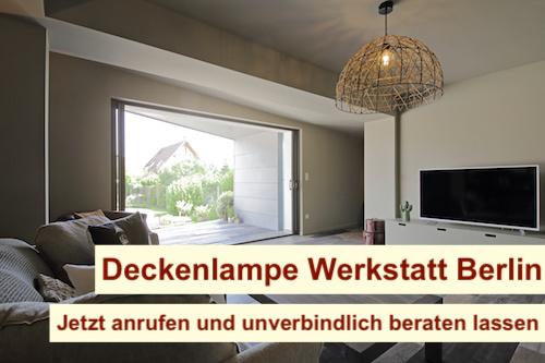 Deckenlampe Werkstatt Berlin