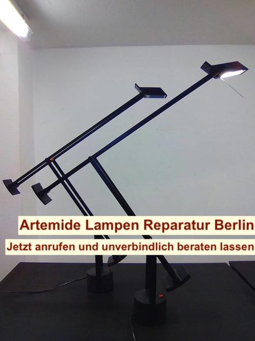 Lampe Tizio reparieren Berlin