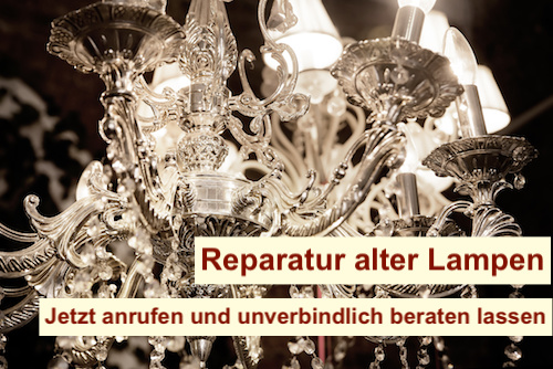 reparatur tiffany lampenschirme