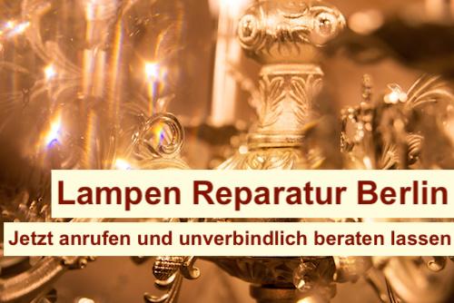 Wer repariert alte Lampen Berlin